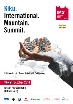 Kiku. International Mountain Summit 2014