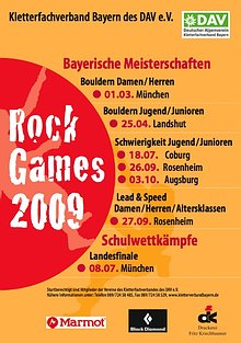 Rock Games 2009 - Plakat