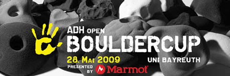 adh-Open Bouldercup 2009 in Bayreuth