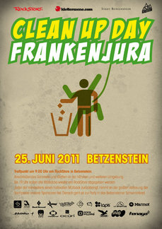 Clean Up Day Frankenjura