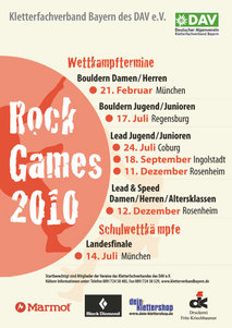 Rock Games 2010 - Plakat