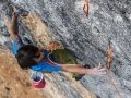 "Sachi Amma in ""Power Inverter"" (9a+) (c) Eddie Gianelloni / adidas Outdoor"