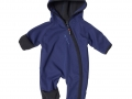 Wind Rain Baby Jumpsuit Darknavy - ISBJÖRN of Sweden