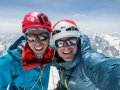 Andy Houseman und Jon Griffith am Link Sar Westgipfel (c) The North Face