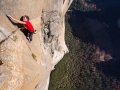 Alex Honnold klettert El Capitans Freerider Route im Yosemite Nationalpark Free Solo (c) Jimmy Chin