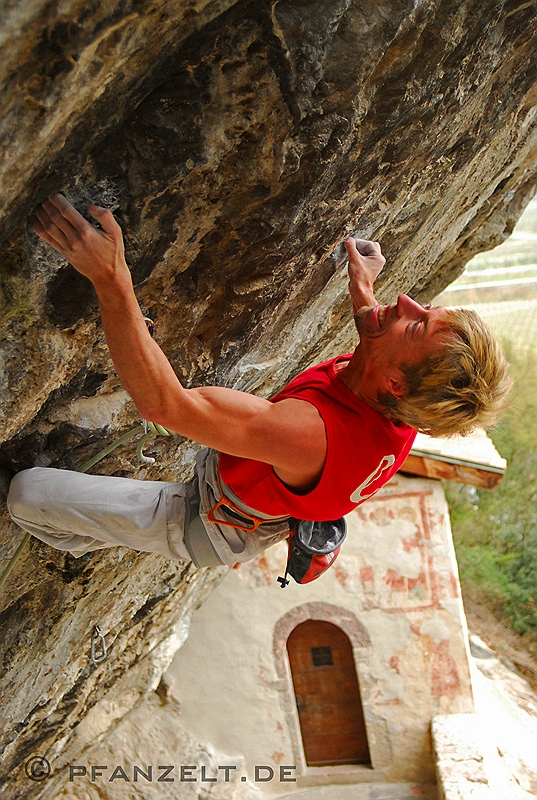 "Bilder von Andreas Bindhammer in ""St. Anger"" (8c+/9a)"