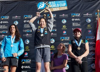 IFSC Climbing World Cup Vail 2014: Noguchi and Sharafutdinov set themselves apart with gold medals