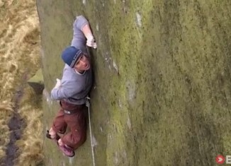 [VIDEO] These Climbers Are Terrified and You'll Be Terrified for Them