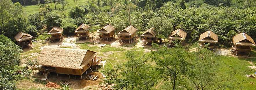 Green Climbers Home in Laos niedergebrannt