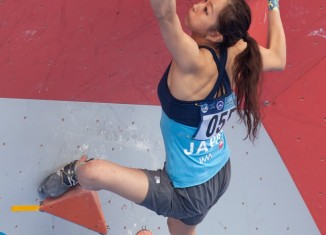 IFSC Boulderworldcup 2014 in Chongqing: Jule Wurm and Jan Hojer win