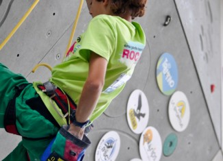 Rock Junior 2012: The climbing game and great sport