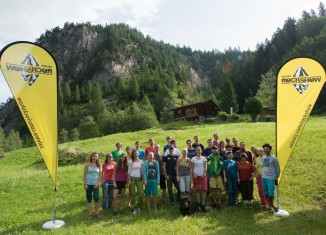 Internationales SALEWA Rockshow Camp 2014: Boulder-Tage in Magic Wood