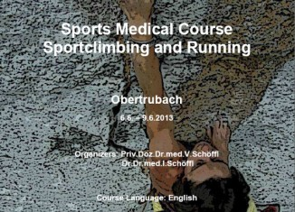 Sports Medical Course 2013 in the Frankenjura: Sportclimbing and Running