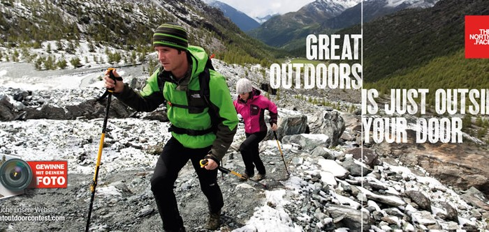 The Great Outdoor Contest von The North Face und Intersport