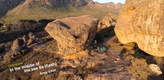 [VIDEO] Rocklands - In the middle of the ass (8a)