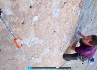 "[VIDEO] Adam Pustelnik und Nico Favresse in ""Orbayu"" (MSL 8b+/8c)"