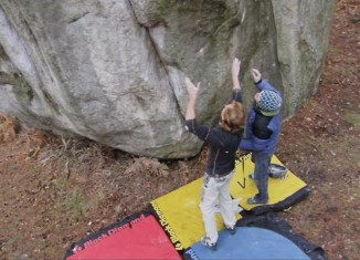 [VIDEO] Adam Ondra in Fontainebleau - Teil 2