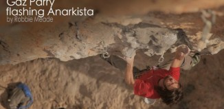 "[VIDEO] Gaz Parry flashing ""Anarkista"" (8a+)"