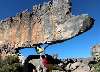 [VIDEO] Rocklands Bouldern - Cederberg Spezial