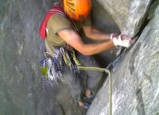 [VIDEO] Regular North Face Route of Rostrum im Yosemite Valley