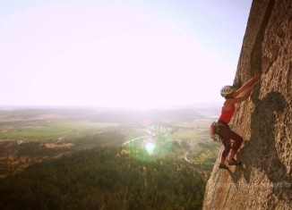 [VIDEO] Jenn Flemming on Devils Tower: National Parks Epic Challenge
