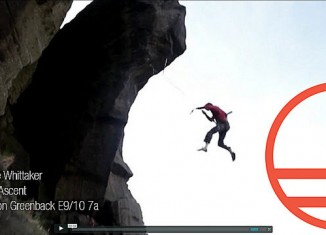 [VIDEO] Pete Whittaker on the 1st ascent of Baron Greenback (E9/10 7a)