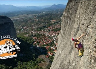 [VIDEO] Petzl RocTrip 2014 - Ep4 - Meteora