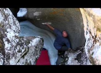 [VIDEO] Chris Schulte bouldert am Independence Pass