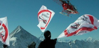 Stop Heliskiing (c) mountain wilderness Schweiz
