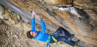 "Ben Rueck on ""Gutless Wonder"" (5.14b) (c) Osprey Packs"