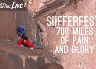 Sufferfest: National Geographic Live with Alex Honnold and Cedar Wright (c) National Geographic