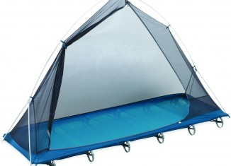 Therm-a-Rest LuxuryLite UltraLite Cot mit Bug Shelter (c) Therm-a-Rest