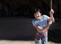 Petzl athlete Ashima Shiraishi sends 9a/+ at age 13 (c) Petzl Sport