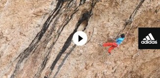 Sachi Amma sending 9a or harder in Spain (c) adidas Outdoor