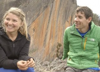 Alex Honnold and Hazel Findlay climbing in Australia (c) Side Trip Productions