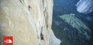 "Emily Harrington sends ""Golden Gate"" (5.13 VI) on El Capitan (c) The North Face"
