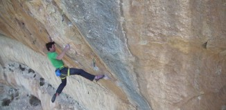 "Sonnie Trotter in ""Estado Critico"" (9a) (c) Five Ten"