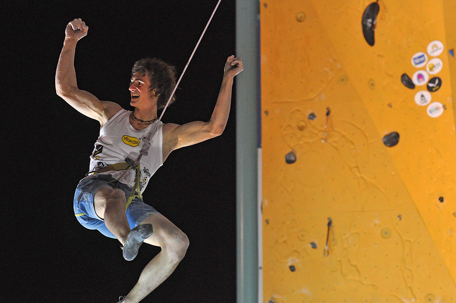 Adam Ondra at the Rock Master 2015 (c) Giulio Malfer / Planetmountain.com