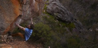 Jimmy Webb bouldert in Australien 2015 (c) Jimmy Webb