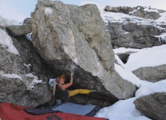 SILVRETTA 2015 - Bouldern in den verschneiten Alpen (c) Triple M Production