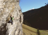 Climbing in Stohlwond, South Tyrol (c) Vertical Life