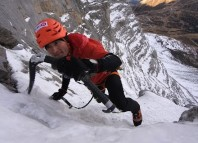 Ueli Steck New Speed Record Eiger 2015 (c) Samuel Gyger