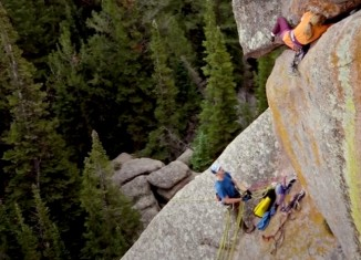 The Holy War - Pamela Shanti Pack (c) Climbing Magazine