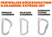 Black Diamond Equipment: Freiwilliger R�ckruf - Aufruf zur Sicherheitsinspektion