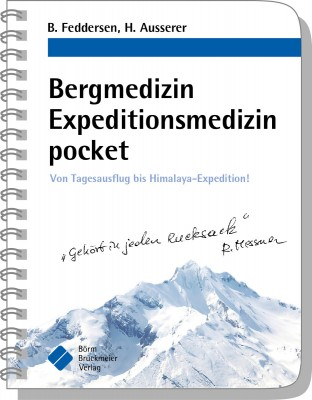 Bergmedizin Expeditionsmedizin pocket (c) Börm Bruckmeier Verlag