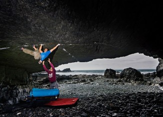 "Tom Randall on ""The Kraken"" (V13) (c) Hot Aches/Chris Prescott"