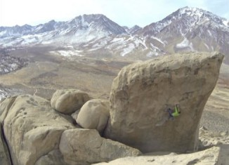 "First Ascent of ""Gnocchi"" in Bishop, California (c) Black Owl Media"