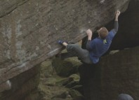 "Ned Feehally on ""Voyager Sit Start"" (8B+) (c) UKClimbing.com TV"