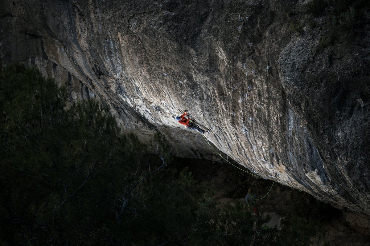 Alex Megos in Margalef (c) Frank Kretschmann / Red Bull Content Pool