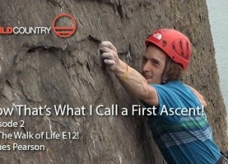 "James Pearson on ""The Walk of Life"" (E12 7a) (c) Hot Aches Productions"